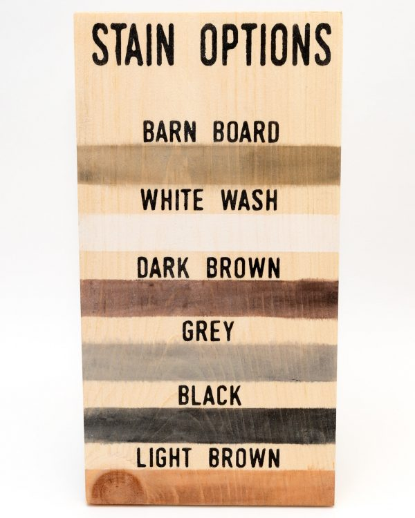 stain options